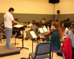 CSPAC Rehearsal